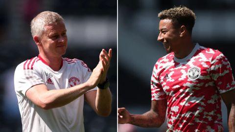 Solskjaer confirms plans for Jesse Lingard after Man Utd's win over Derby County