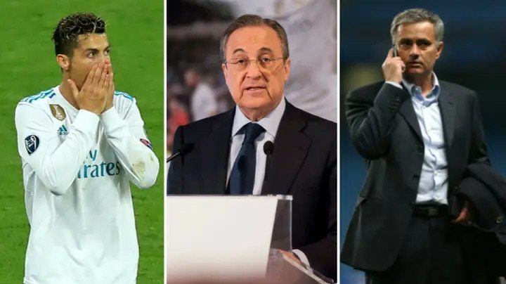 'Imbecile' – Real Madrid president Perez caught insulting Ronaldo & Mourinho in leaked audio