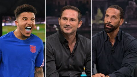 Lampard & Ferdinand rave about 'special' Man Utd signing Jadon Sancho after England display