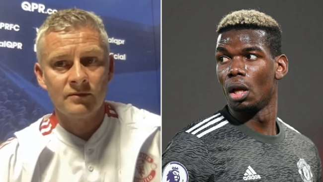 Solskjaer responds to rumours Pogba has rejected Man Utd contract & will join PSG