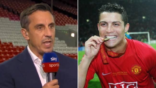 Neville on Ronaldo