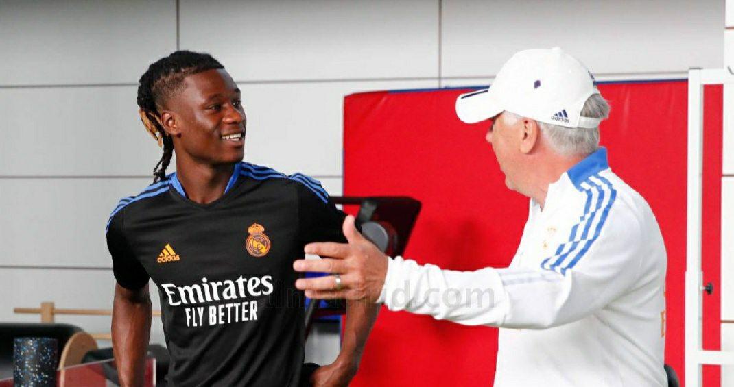 Eduardo Camavinga reveals why he snubbed Man Utd at Real Madrid unveiling