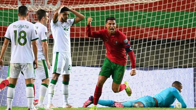 Cristiano Ronaldo speaks out after breaking all-time international scoring record in Portugal win