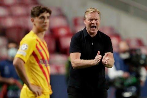 Barcelona make decision on Ronald Koeman after poor Champions League start
