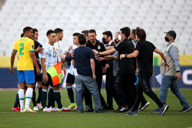 Chaos in Brazil vs Argentina as health officials stop game to deport four players