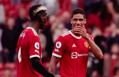 Raphael Varane sends message to Paul Pogba over his Man Utd future