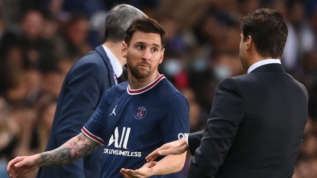 Pochettino reveals what Lionel Messi told him after furious reaction to PSG sub