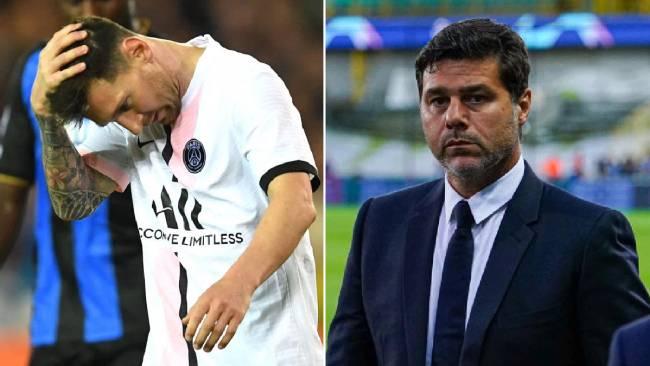 Antonio Conte defends Pochettino after PSG & Messi struggle vs Club Brugge